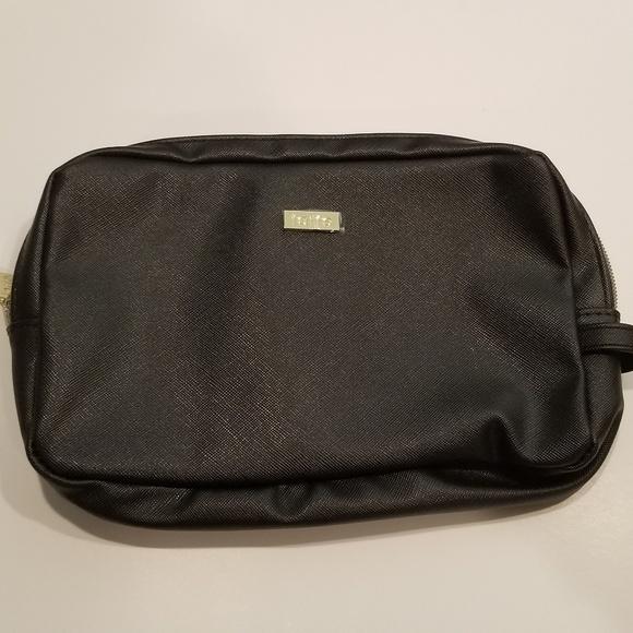 tarte Handbags - Nwot Tarte makeup bag black super cute unused